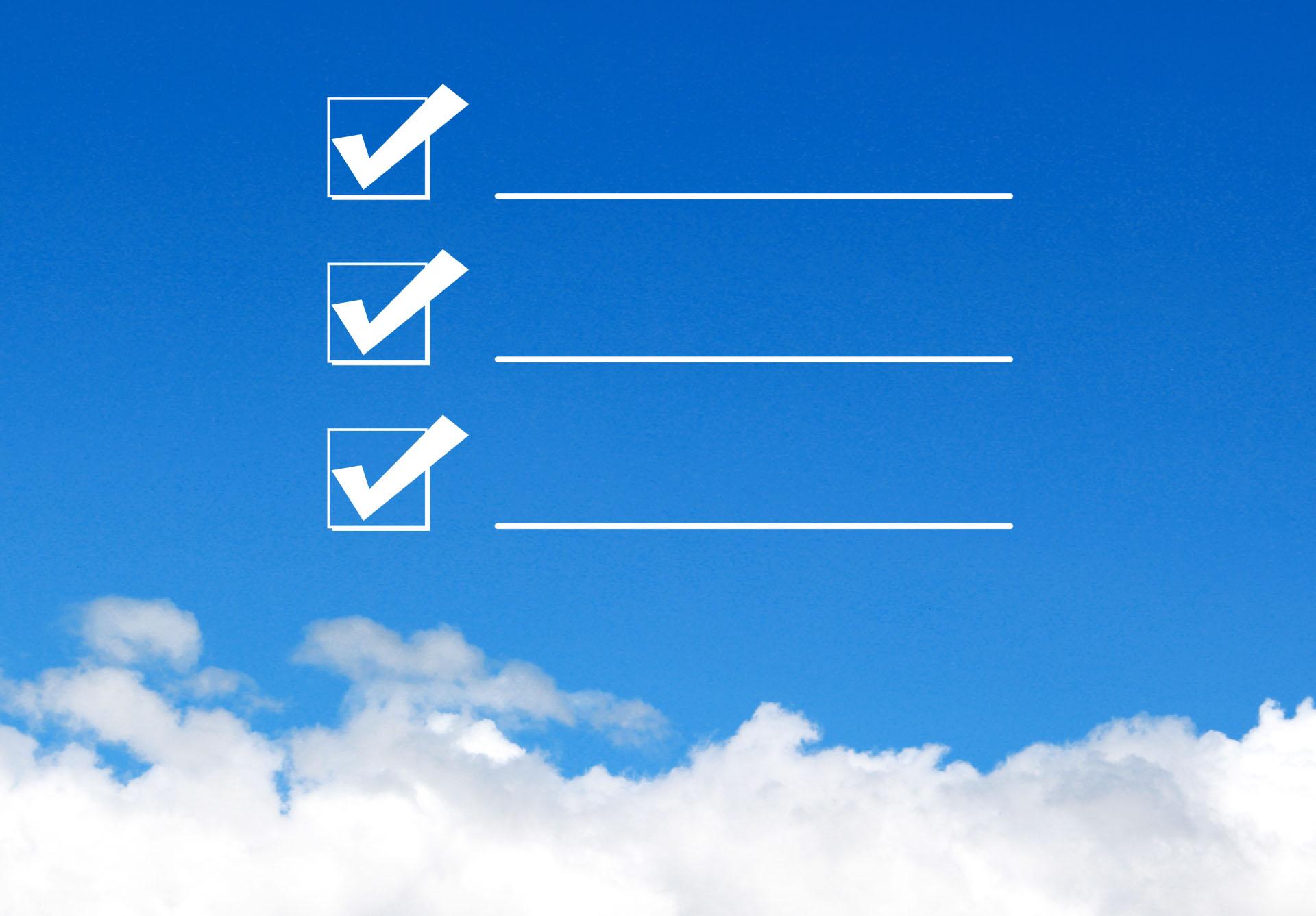 WEBライティングのチェックリスト